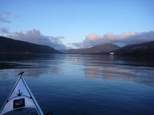 Scottish sea loch in winter from xcite